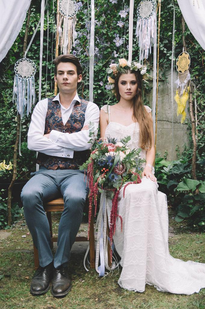 sesja ślubna na śmiesznie