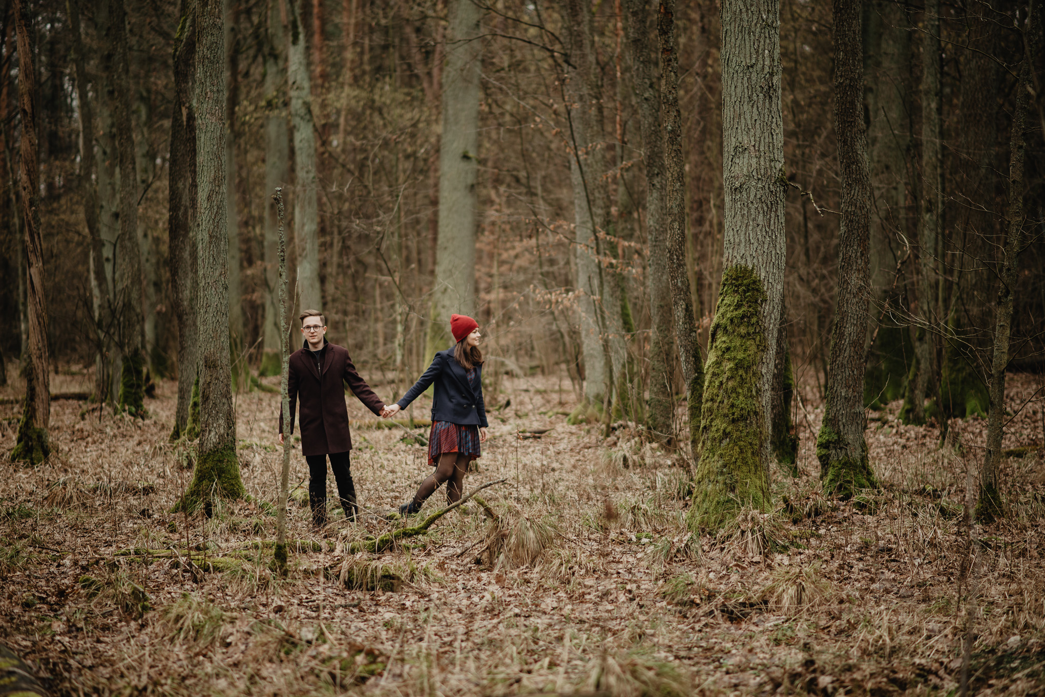 zagubieni w lesie